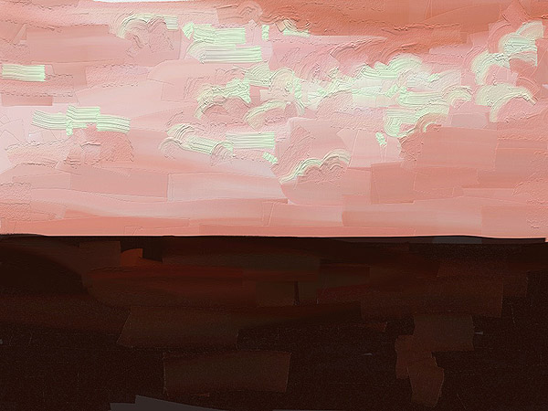 Red Sky – Ipad Paint