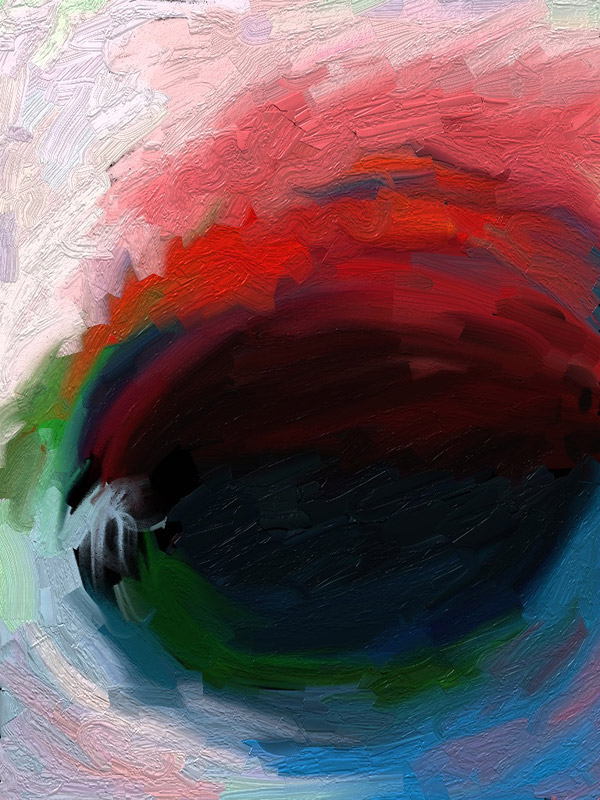 Secret color hole – Ipad Paint