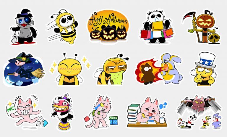BeeTalk Friends 04 – Sticker