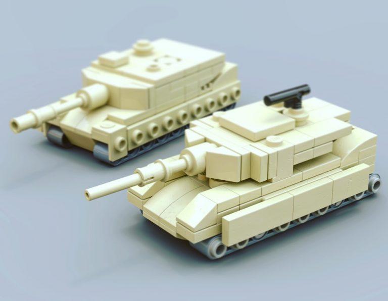 Lego M1A1